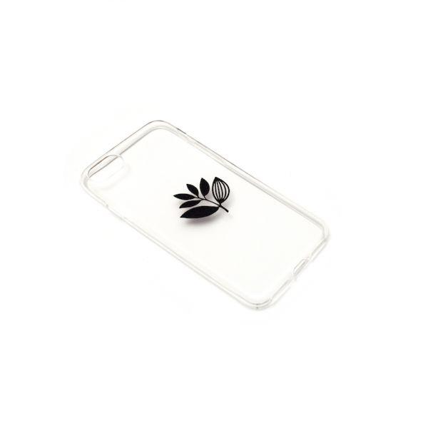 Magenta Magenta Plant Phone Case - Transparent Iphone 7