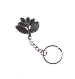 Magenta Magenta Plant Keychain