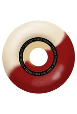 Spitfire Spitfire Formula Four Lock ins Red/Natural Swirl 53mm 99d wheels (set of 4)