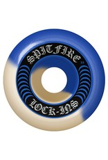 Spitfire Spitfire Formula Four Lock ins Blue/Natural Swirl 52mm 101d wheels (set of 4)