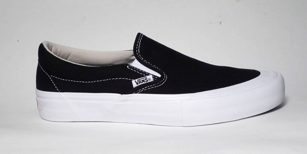 Vans Vans Slip on Pro (Toe Cap) - Black (Canvas)