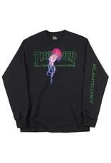 Thrasher Mag Thrashser Atlantic Drift Longsleeve T-shirt - Black