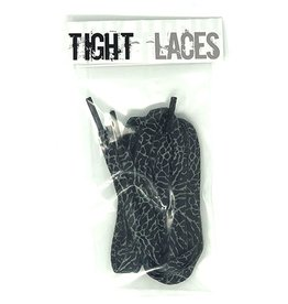 "Tight Laces Tight Laces Flat 45"" - Crackle Black/Grey"