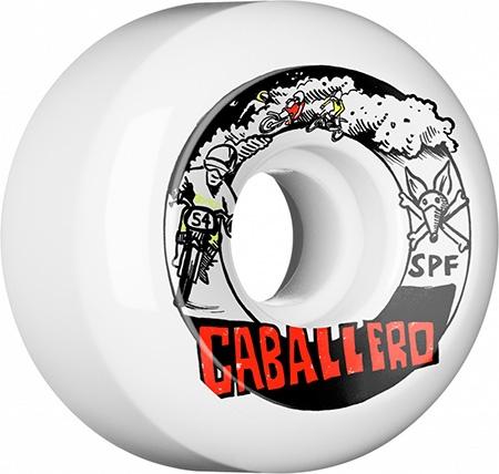 Bones Wheels Bones SPF Caballero x Blender Moto 54mm wheels (set of 4)