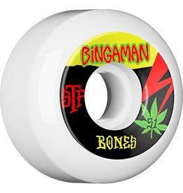 Bones Wheels Bones STF v5 Bingaman Attitude 55mm 103A Wheels (set of 4)
