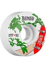 Bones Wheels Bones STF v1 Jaws Forbidden 52mm Wheels (set of 4)