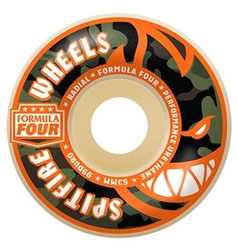 Spitfire Spitfire Formula Four Covert Radials Natural 52mm 99d wheels (set of 4)