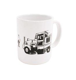 Traffic Traffic Street Cleaner Mug