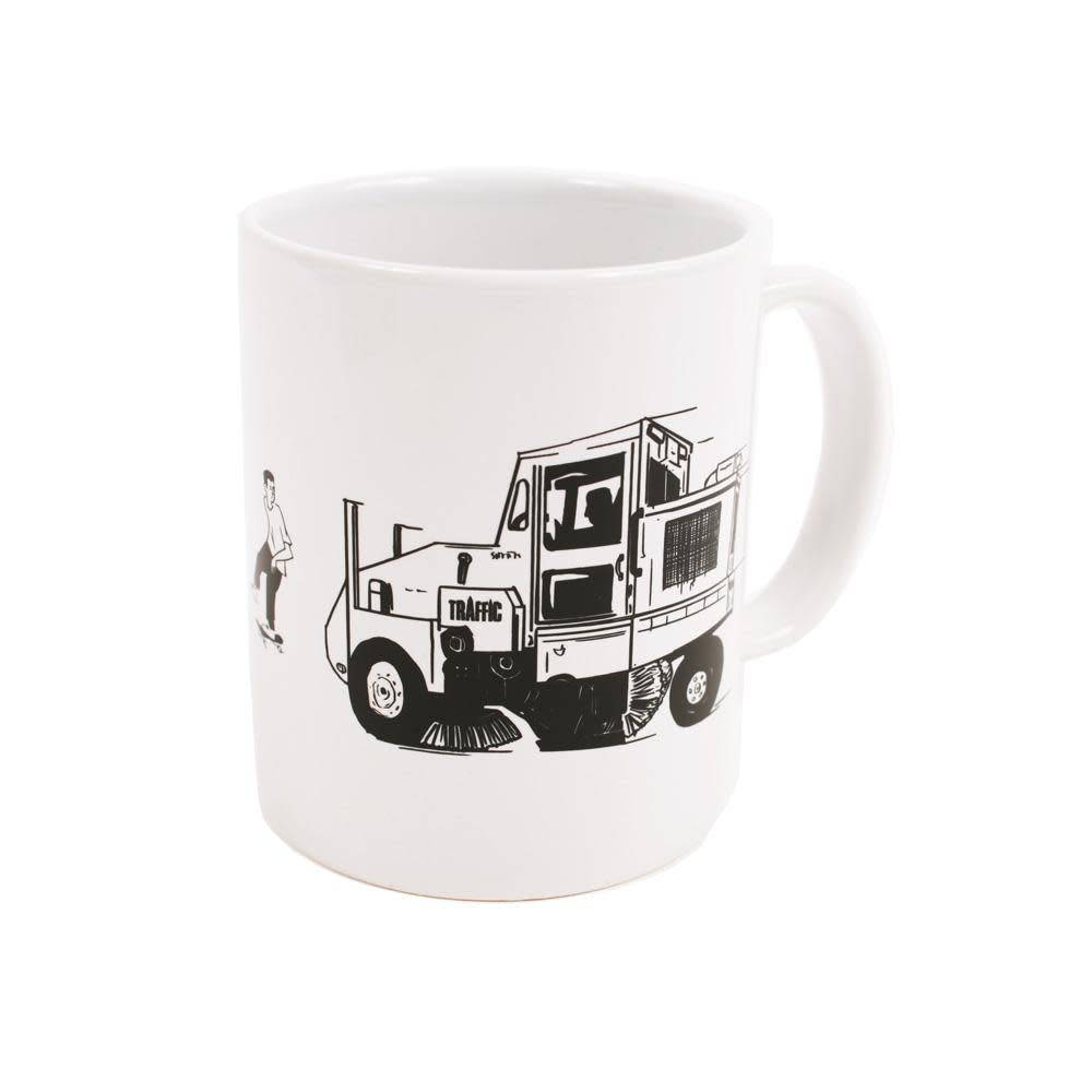 Traffic Traffic Street Cleaner Mug