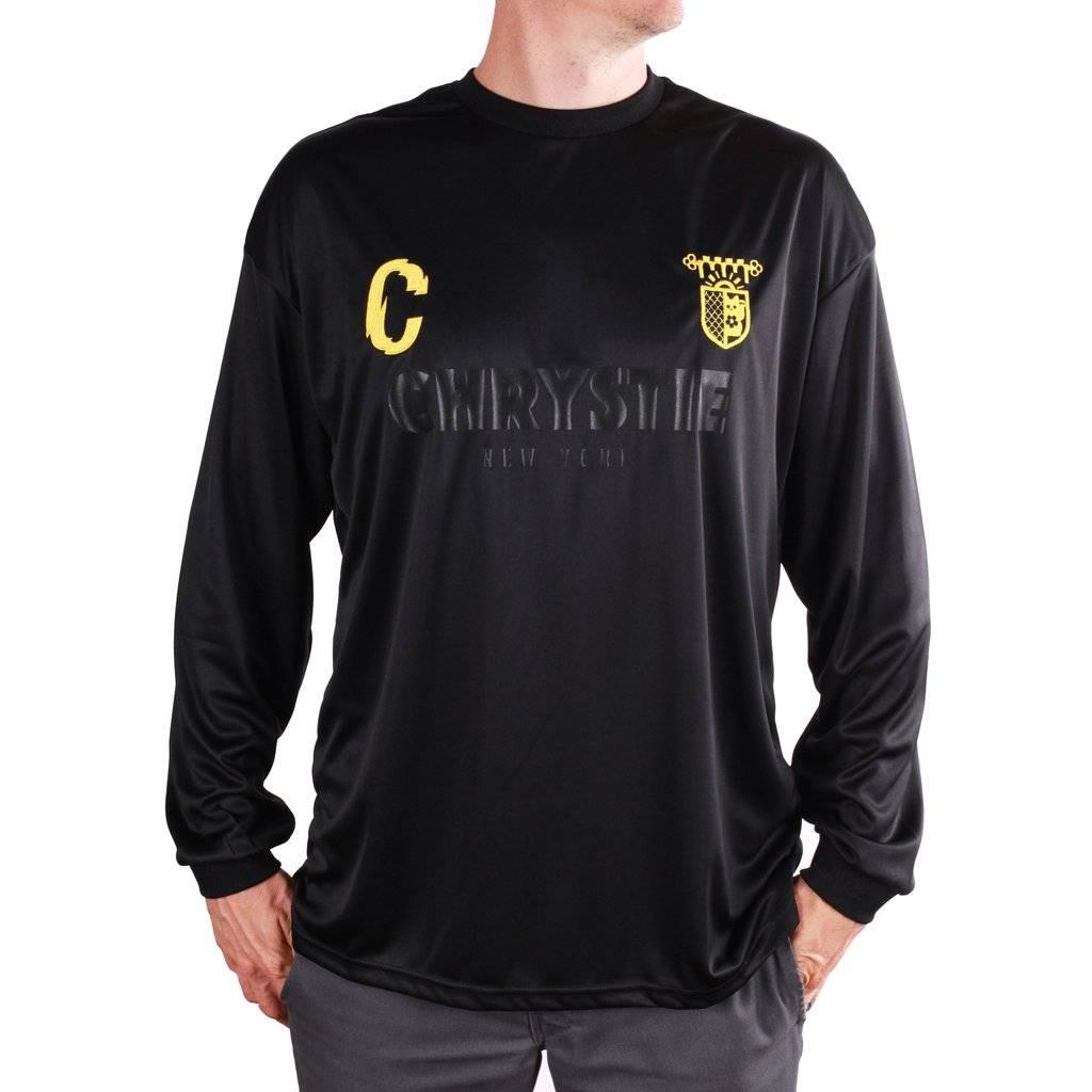 Chrystie NYC Chrystie NYC CSC Longsleeve Soccer Jersey - Black/Yellow