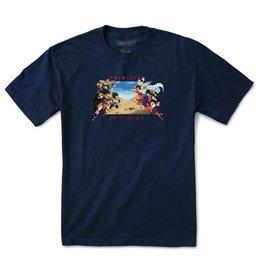 Primitive Primitive x Dragon Ball Z Battle T-shirt - Navy