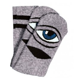 Toy Machine Toy Machine Sect Eye Pink Grey Heather Socks
