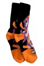 Toy Machine Toy Machine Barf Sect Multi Orange Socks
