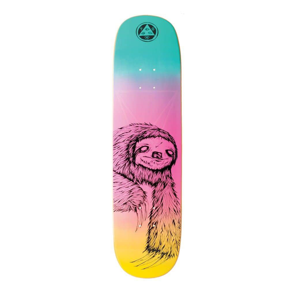 Welcome Welcome Sloth on Amulet Deck (Rainbow) - 8.125 x 31.75