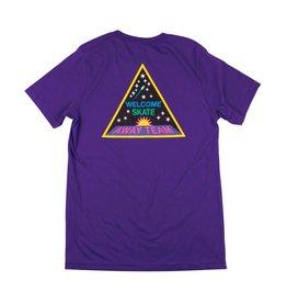 Welcome Welcome Away Team T-shirt - Purple (size Medium)