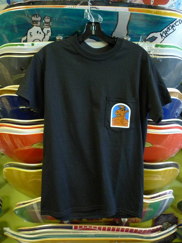 FA skates FA Alf Pocket T-shirt - Black (size Small)