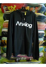 Analog Analog Compund 2 Zip-up Hoodie - Black (Small)