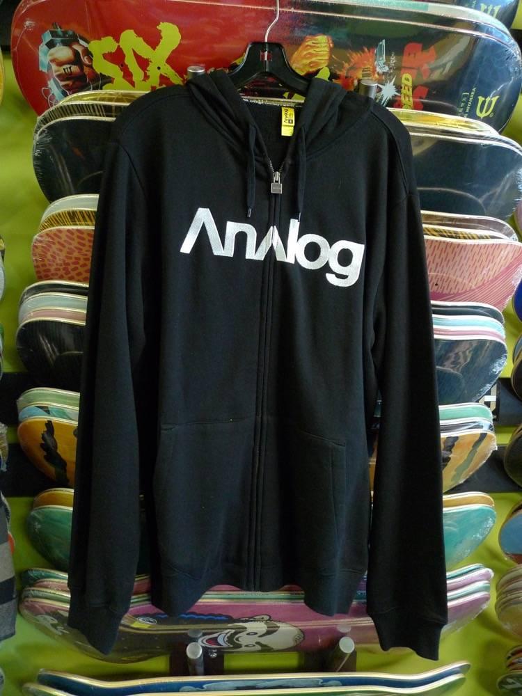Analog Analog Compund 2 Zip-up Hoodie - Black (Small)
