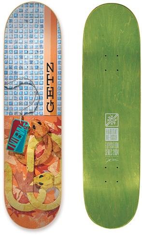 Habitat Habitat Getz Exposition re-issue Deck 8.0