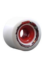 Venom Thug Life Six Fours White/Red Hub 64mm 78a Wheels (set of 4)