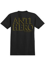 Anti-Hero Anti-Hero Drop Hero Pocket Shirt - Black/Yellow