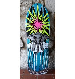 Prime Prime Mike Vallely Elephant on the Edge World Industries re-issue Deck -(Blue) 9.75 x 30.75