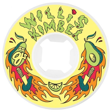 OJ wheels OJ 55mm Kimball Avo Insaneathane Universals 101a wheels (set of 4)