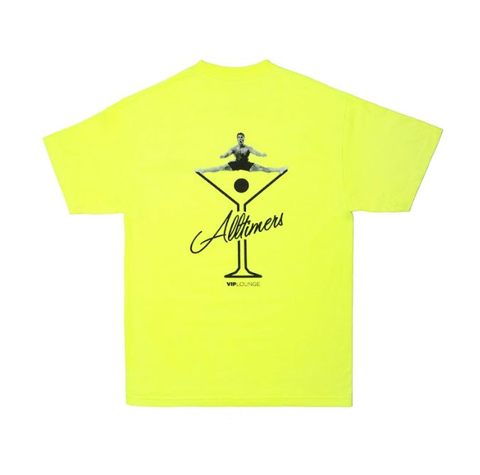 Alltimers Alltimers Splits T-shirt - Safety Green