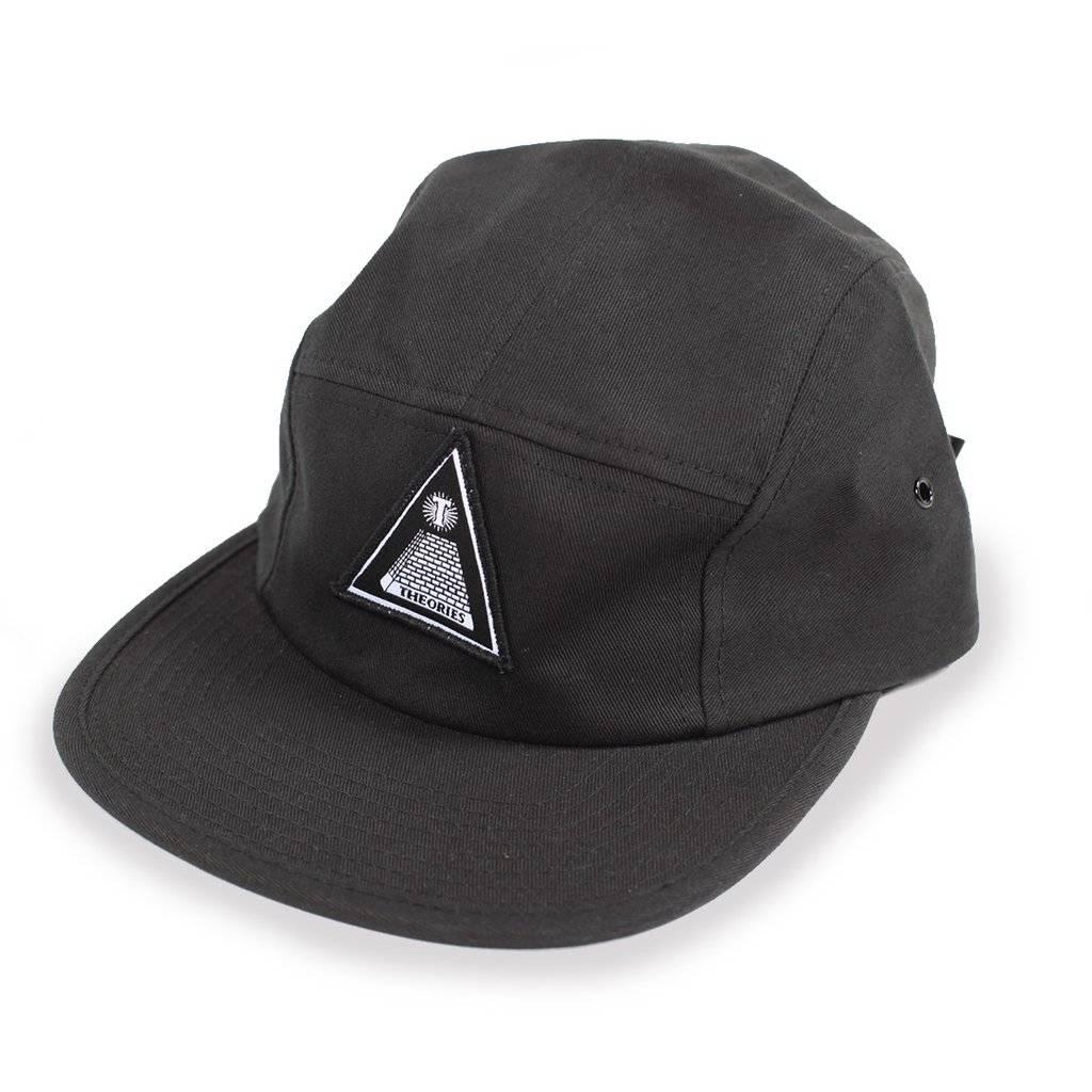 Theories Brand Theories Brand Theoramid 5-Panel Hat - Black