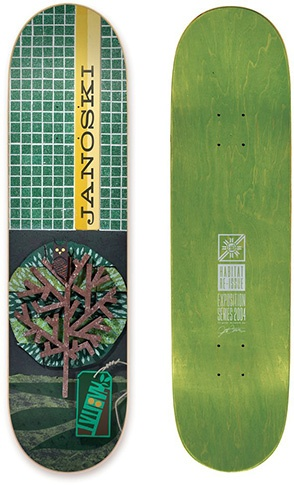 Habitat Habitat Janoski Exposition re-issue deck - 8.25