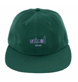 WKND brand WKND Gradient W 6 panel Hat - Forest Green