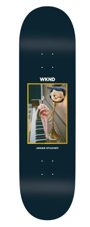 WKND brand WKND Doll Parts Trumpet Boy Johan Stuckey Deck - 8.6
