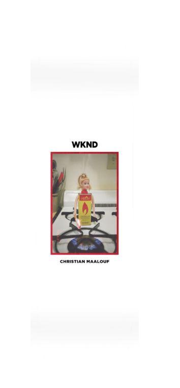 WKND brand WKND Doll Parts Flame Girl Christian Maalouf Deck - 8.5