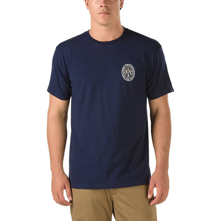 Vans Vans Cold Break T-shirt - Navy