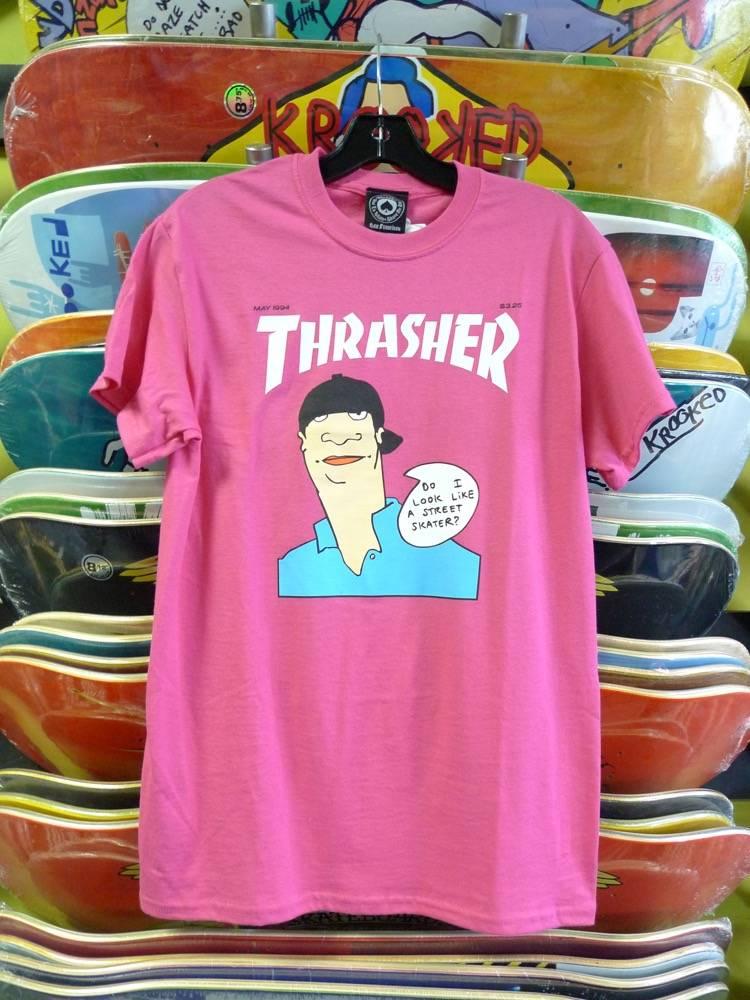 Thrasher Mag Thrasher Gonz Cover T-shirt - Pink