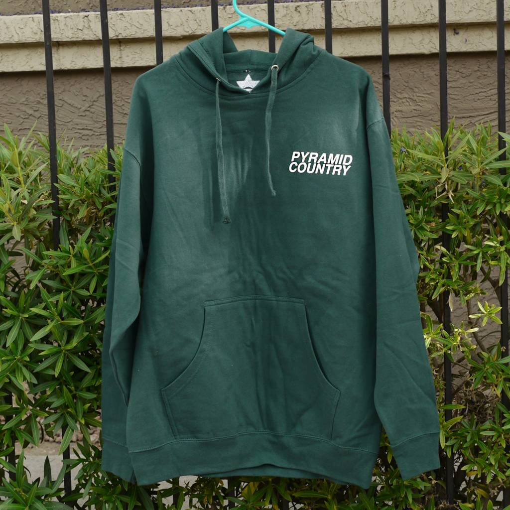 Pyramid Country Pyramid Country Glogo Forest Hoodie - Forest Green