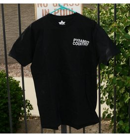 Pyramid Country Pyramid Country Glogo Black T-shirt