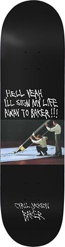 Baker Baker Cyril Super Stock Deck - 8.25