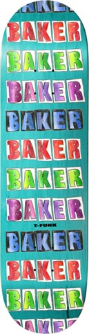 Baker Baker T-Funk Colored Pencil Deck 8.25