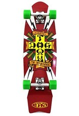 Dogtown Dogtown Death to Invaders White Mini Cruiser Complete - 8.5 x 28.75