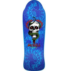 Powell Powell Peralta Bones Brigade McGill Blue Re-Issue Deck - 9.94 x 30.43 (10th series)