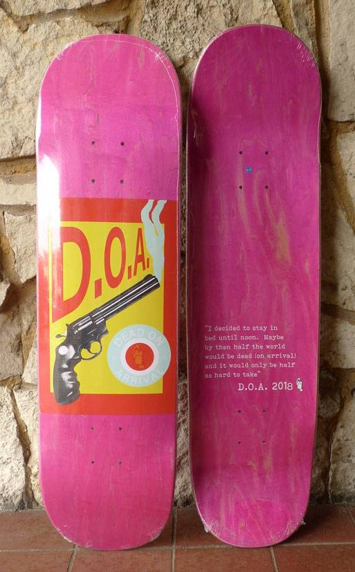 Dead On Arrival D.O.A. Pulp Deck - 8.5 (Y2kave)