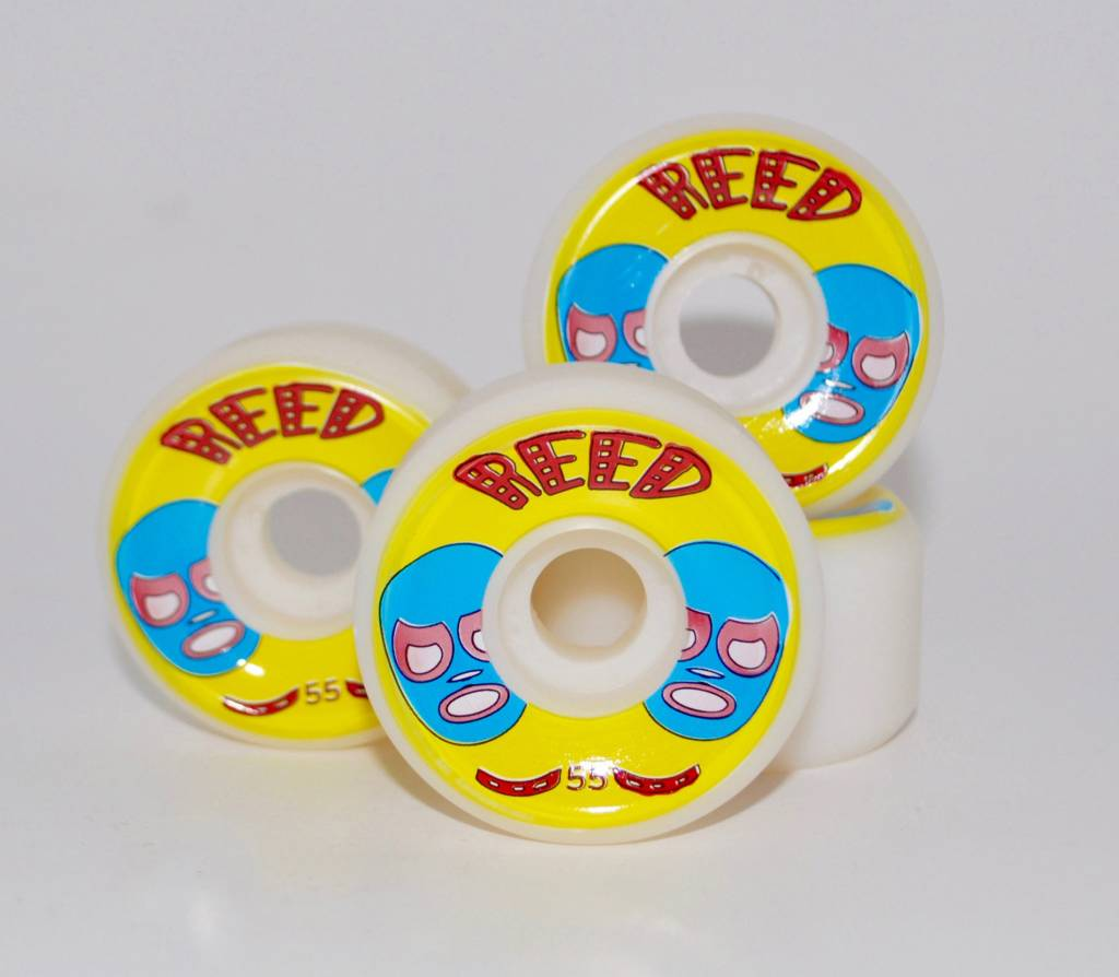 Reed Reed Luchador 55mm 101a conical wheels (set of 4)