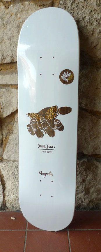 Magenta Magenta Drake Jones Guest Deck - 8.125