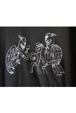 GX1000 GX1000 3some T-shirt - Black