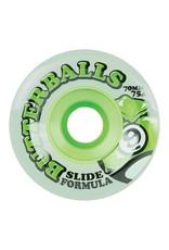 Sector 9 Sector 9 Butterball Green Slide 70mm 75a Wheels (set of 4)
