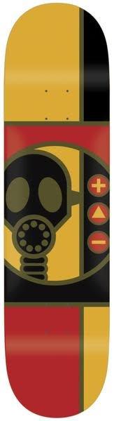 Alien Workshop Alien Workshop Gas Mask Rnd Deck - 8.375 x 32