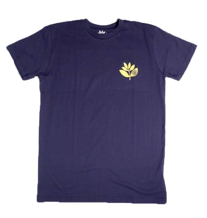 Magenta Magenta Heaert Plant T-shirt - Navy