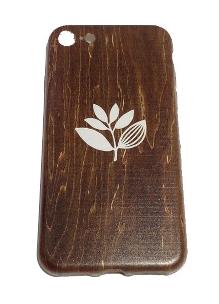 Magenta Magenta Plant Phone Case - Wood Iphone 7
