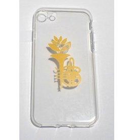 Magenta Magenta Tumpet Phone Case - Transparent Iphone 7